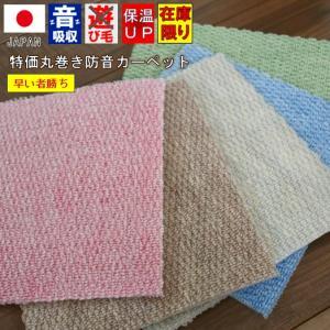 カーペット 4.5畳 絨毯 防音特級 LL-30 じゅうたん 江戸間4.5帖カーペット P-1000