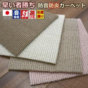 カーペット 4.5畳 絨毯 じゅうたん 安い 江戸間4.5帖カーペット ラフィーレ