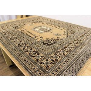 カーペット 6畳 モケットラグ 日本製 ラグカーペット 絨毯 日本製モケット 約6畳カーペット 240×330cm リュセル|tairyo