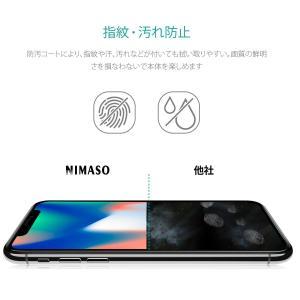 2枚セットNimaso iPhoneX/XS 5.8インチ 用 全面保護フィルム 液晶強化ガラス フルカバーガイド枠付き日本製素材旭硝子製( taisei-sunflower