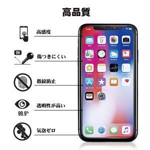 2枚セットiPhoneX/iPhoneXS ガラスフィルムiPhoneX/iPhoneXS 全面保護フィルム アイフォンX 強化ガラス 3D taisei-sunflower