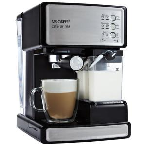 Mr. Coffee(ミスターコーヒー) エスプレッソ・カプチーノ・カフェラテ対応 Cafe Pri...