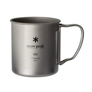 スノーピーク(snow peak) チタン シングルマグ 450 容量450ml MG-143|taisei-sunflower