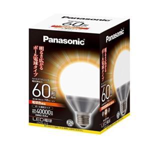 パナソニック LED電球 口金直径26mm 電球60W相当 電球色相当(8.8W) 一般電球・ボール...