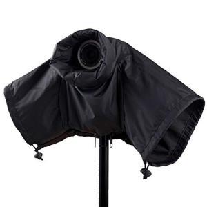 カメラレインカバー レインジャケット ミラーレス 一眼カメラ用 二段階式 大きいサイズ 防水 キャノ...