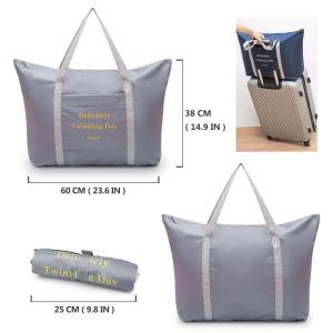 SPAHER(スバヒァ)折り畳み式の荷物袋 洋服収納袋 ショッピングジムスポーツ軽量 防水ショルダー...