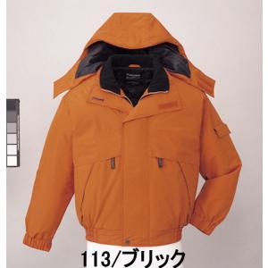 防寒着 ブルゾン(フード付) 48340(全3色) 自重堂|taiseisenkou