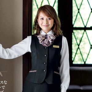 事務服 ベスト 11415-2(黒)オールシーズン 5号〜15号 en joie(アンジョア) taiseisenkou