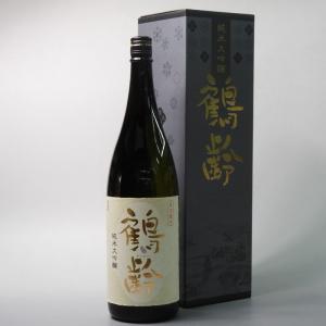 日本酒 鶴齢 純米大吟醸 1800ml かくれい 青木酒造 新潟県|taiseiya