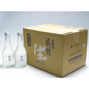 日本酒 鶴齢 吟醸生酒 300ml×12本 かくれい 青木酒造 新潟県