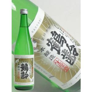 青木酒造 鶴齢 純米酒しぼりたて1800ml