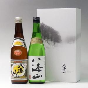 プレゼント ギフト 日本酒 八海山 720ml 2本飲み比べセット 清酒 純米大吟醸|taiseiya