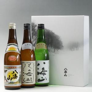 プレゼント ギフト 日本酒 八海山 720ml 3本飲み比べセット 八海醸造 新潟県|taiseiya