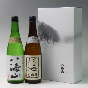 プレゼント ギフト 日本酒 八海山 720ml 2本飲み比べセット 大吟醸 純米大吟醸|taiseiya