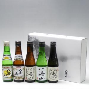 プレゼント ギフト 日本酒 八海山 300ml 5本飲み比べセット 八海醸造 新潟県|taiseiya