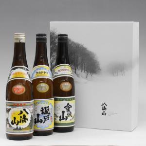 プレゼント ギフト 日本酒 魚沼三山 720ml 3本飲み比べセット 八海山 坂戸山 金城山|taiseiya