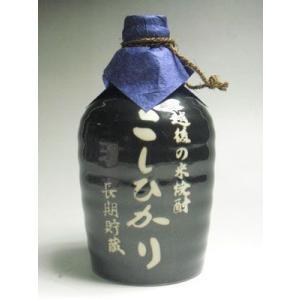 越後の本格 米 焼酎 こしひかり 長期貯蔵 40度 720ml 美峰酒類 新潟県|taiseiya