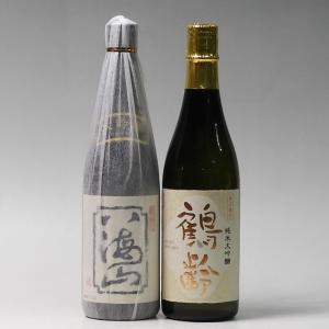 日本酒 八海山 大吟醸・鶴齢 純米大吟醸 720ml×2本セット 新潟県 南魚沼市|taiseiya
