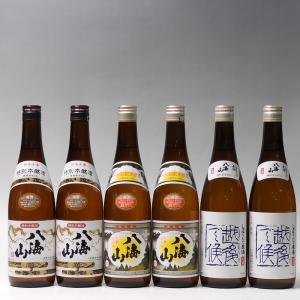 日本酒 八海山 特別本醸造・清酒・青越後720ml×6本飲み比べセット|taiseiya