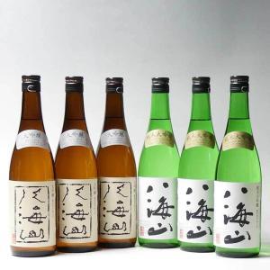 日本酒 八海山 大吟醸・純米大吟醸 720ml×6本飲み比べセット|taiseiya