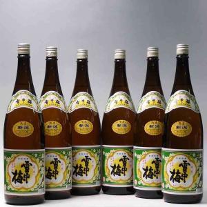 日本酒 雪中梅 普通酒 1800ml×6本 丸山酒造場 新潟県 上越市|taiseiya