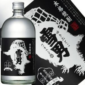 青木酒造 本格粕取り焼酎 雪男720ml|taiseiya
