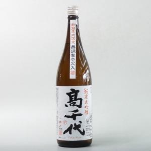 日本酒 高千代 純米大吟醸 壜燗壱火入 1800ml|taiseiya