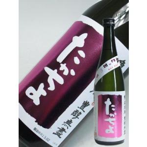 日本酒 たかちよ 桃 ピンク 720ml 無調整生原酒 かすみ酒 豊醇無盡 高千代酒造 新潟県|taiseiya