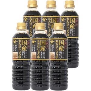 醤油 山崎醸造 国産丸大豆しょうゆ 500ml×6本 新潟県 ヤマサキ taiseiya