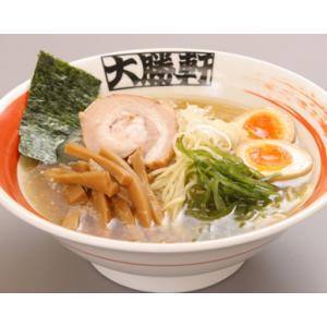 大勝軒のラーメン2人前入りグルメ2012 叉焼 味付けメンマ 麺の太さ  スープの脂選べます|taishoken