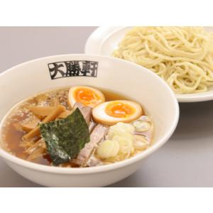 大勝軒のつけ麺(もりそば)2人前入り(簡単な作り方パンフで美味しく作れます)グルメ2016 叉焼 味付けメンマ 麺の太さ  スープの脂選べます|taishoken