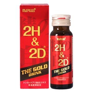 2H&2D ザ・ゴールドドリンク 50ml 丸栄バイオファーマ|taisyou