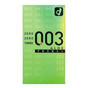オカモト ゼロゼロスリー(003)アロエゼリー 2000 10個入り コンドーム|taisyou