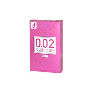 オカモト うすさ均一 0.02EX ピンク 6個入 コンドーム taisyou