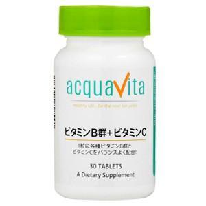 ビタミンB群+ビタミンC 30粒 アクアヴィータ|taisyou
