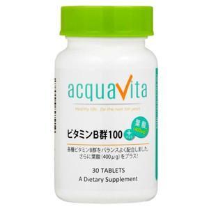 ビタミンB群100+葉酸(400μg) 30粒 アクアヴィータ|taisyou
