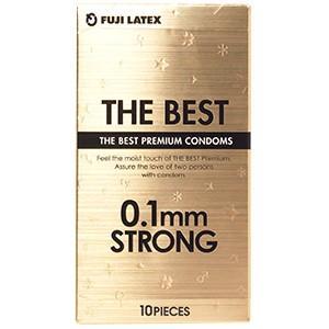 ザ・ベストコンドーム 0.1mm ストロング 10個入 不二ラテックス コンドーム|taisyou