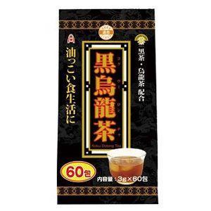 黒烏龍茶 3g×60包 アルファ|taisyou