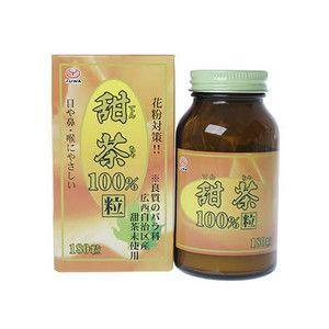 甜茶 100% 粒 180粒 ユーワ