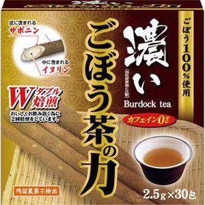 濃い ごぼう茶の力 30包 ユーワ|taisyou