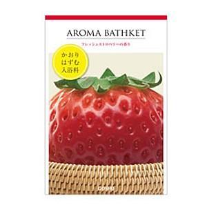 入浴剤 アロマバスケット フレッシュストロベリーの香り 10包|taisyou