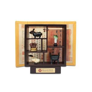 故宮博物院ミニチュアセット 正方形飾り棚
