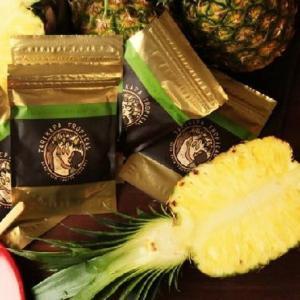 砂糖不使用自然の美味しいさそのまま無農薬栽培 TARIKAPA TROPICALタリカパトロピカル ドライゴールデンパイナップル taiwanselection