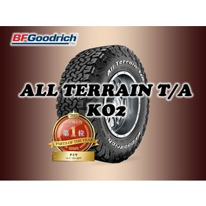 BFGoodRici All-Terrain T/A KO2 37X12.50R17LT ホワイトレ...