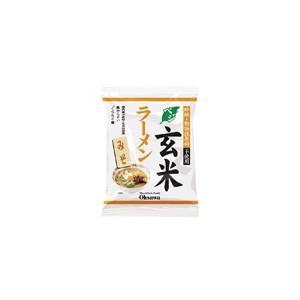 オーサワのベジ玄米ラーメン(みそ)118g(うち麺80g)...