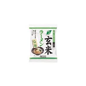 オーサワのベジ玄米ラーメン(しお)112g(うち麺80g)...
