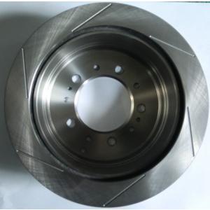 スリットローター(6本)2枚セット 100系ランクルリアー 自動車部品 自動車用品|taiyobrake