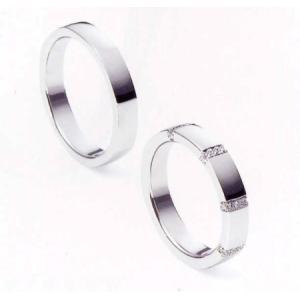 ニナリッチ 結婚指輪・ペア/マリッジリング 6RA914(Men) PT900 (画像左)   taiyodo