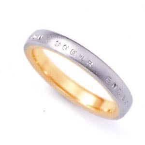 ニナリッチ 結婚指輪 ペア マリッジリング6RL912(Men) PT900 K18 taiyodo
