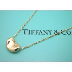 ティファニー Tiffany&Co. K18ゴールド ビーンズミニ ペンダントネックレス|taiyodo